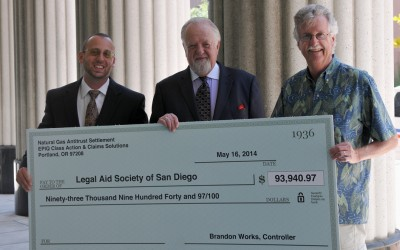 Baker, Burton & Lundy Law Firm Presents $93,000 Cy Pres Donation
